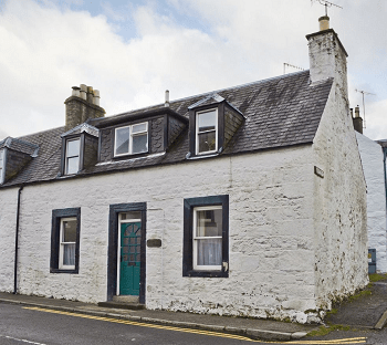 Corner House, self-catering accommodation in the heart of New Galloway